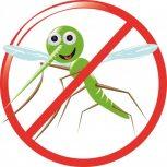 Mygg, fästing skydd